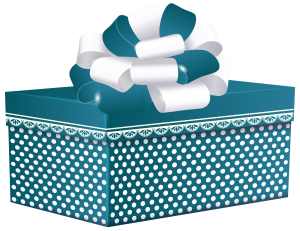 Blue_Dotted_Gift_Box_PNG_Clipart-723